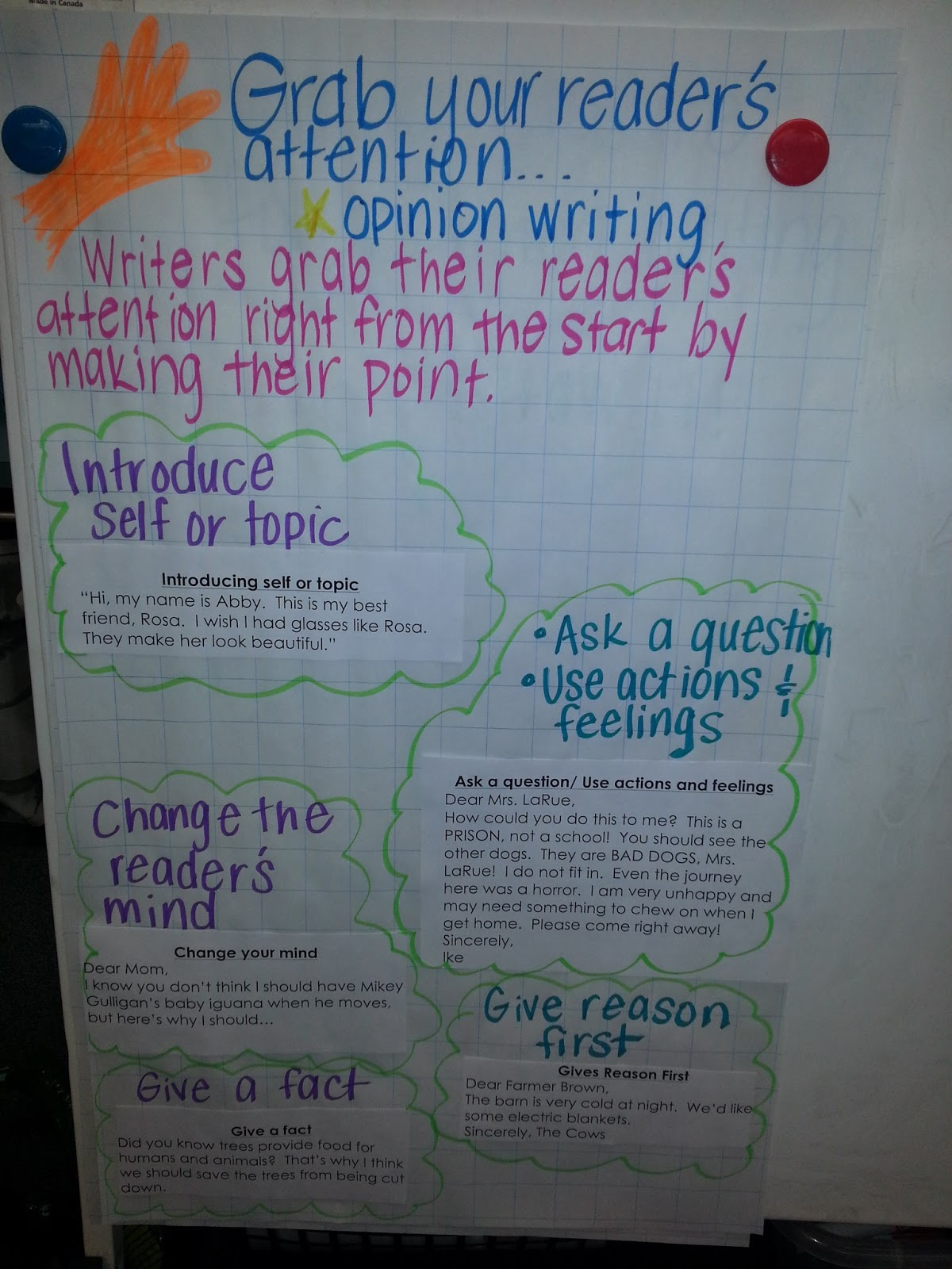 Opinion / Persuasive Writing Prompts